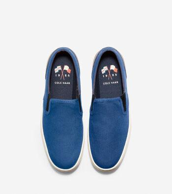 Men's Nantucket Deck Slip-On Sneaker