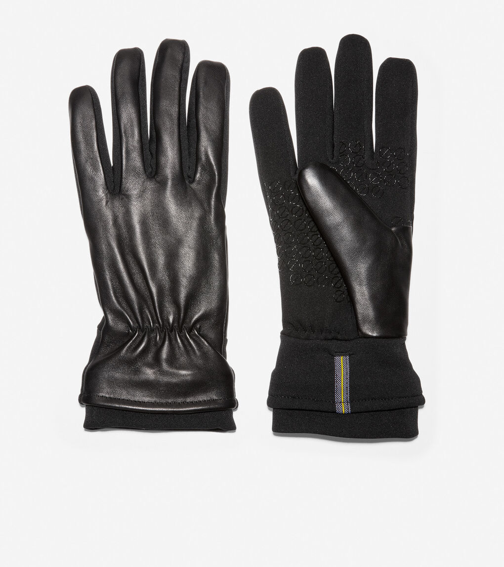Mens ZERØGRAND Leather Glove