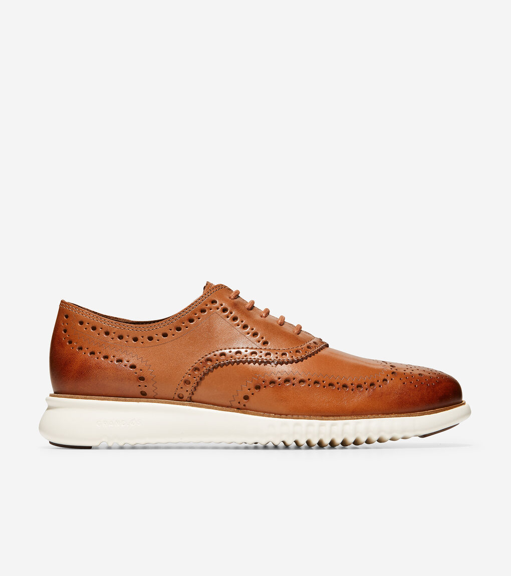 Mens 2.ZERØGRAND Wingtip Oxford