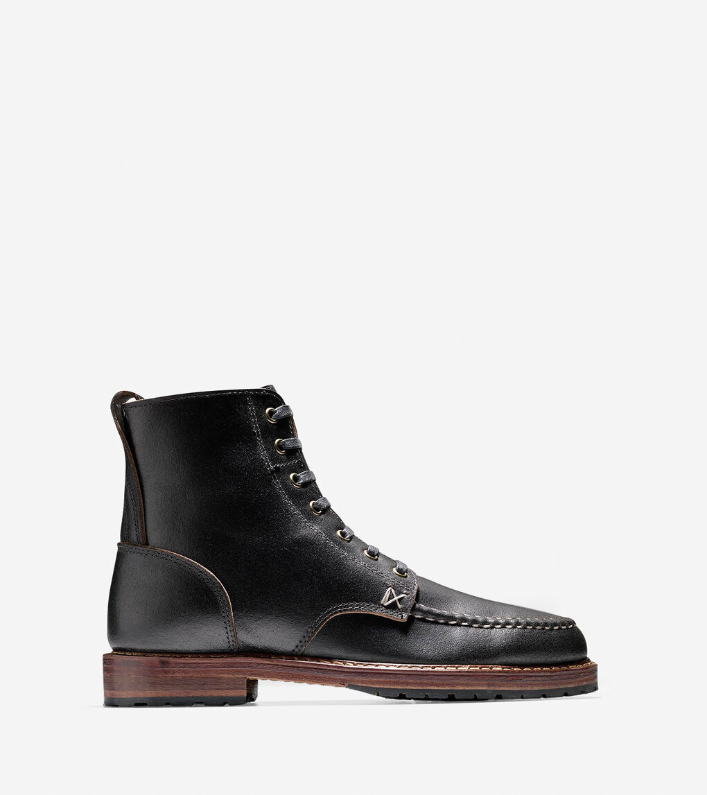 db269e5cceb Men's Made in Maine x BillyKirk Boot in Black Leather | Cole Haan US