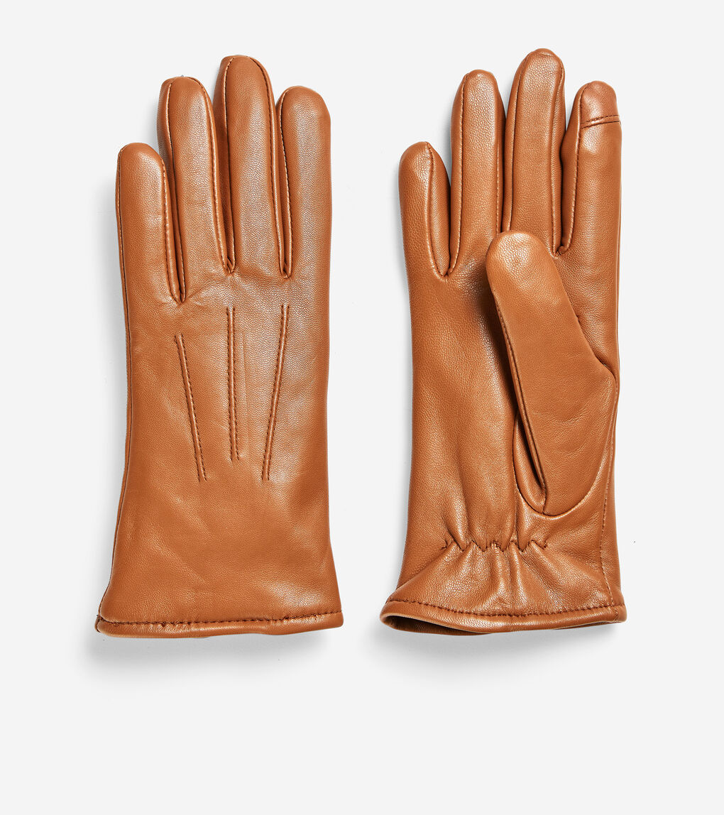 WOMENS Leather Tech Gloves