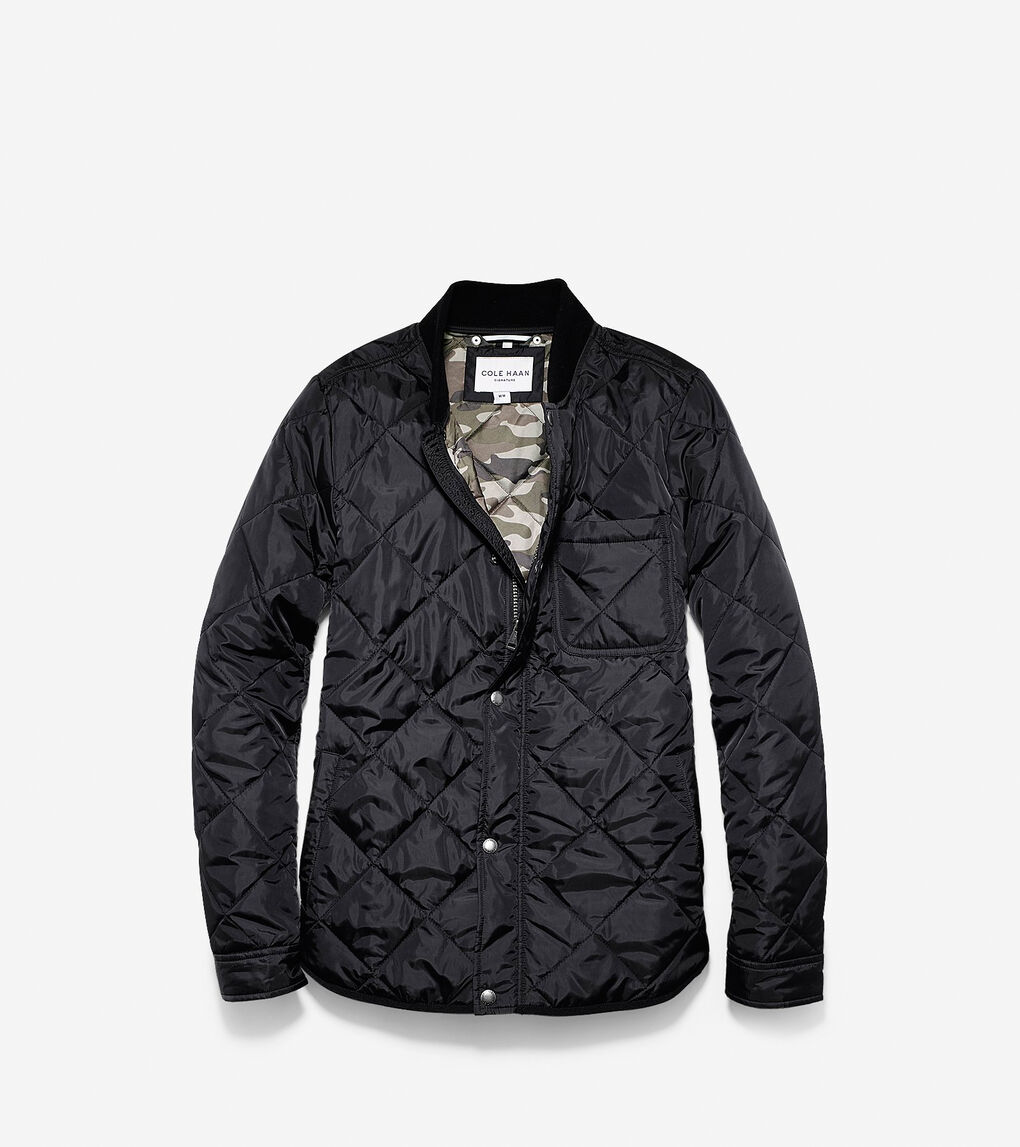 Mens Quilted Varsity Jacket