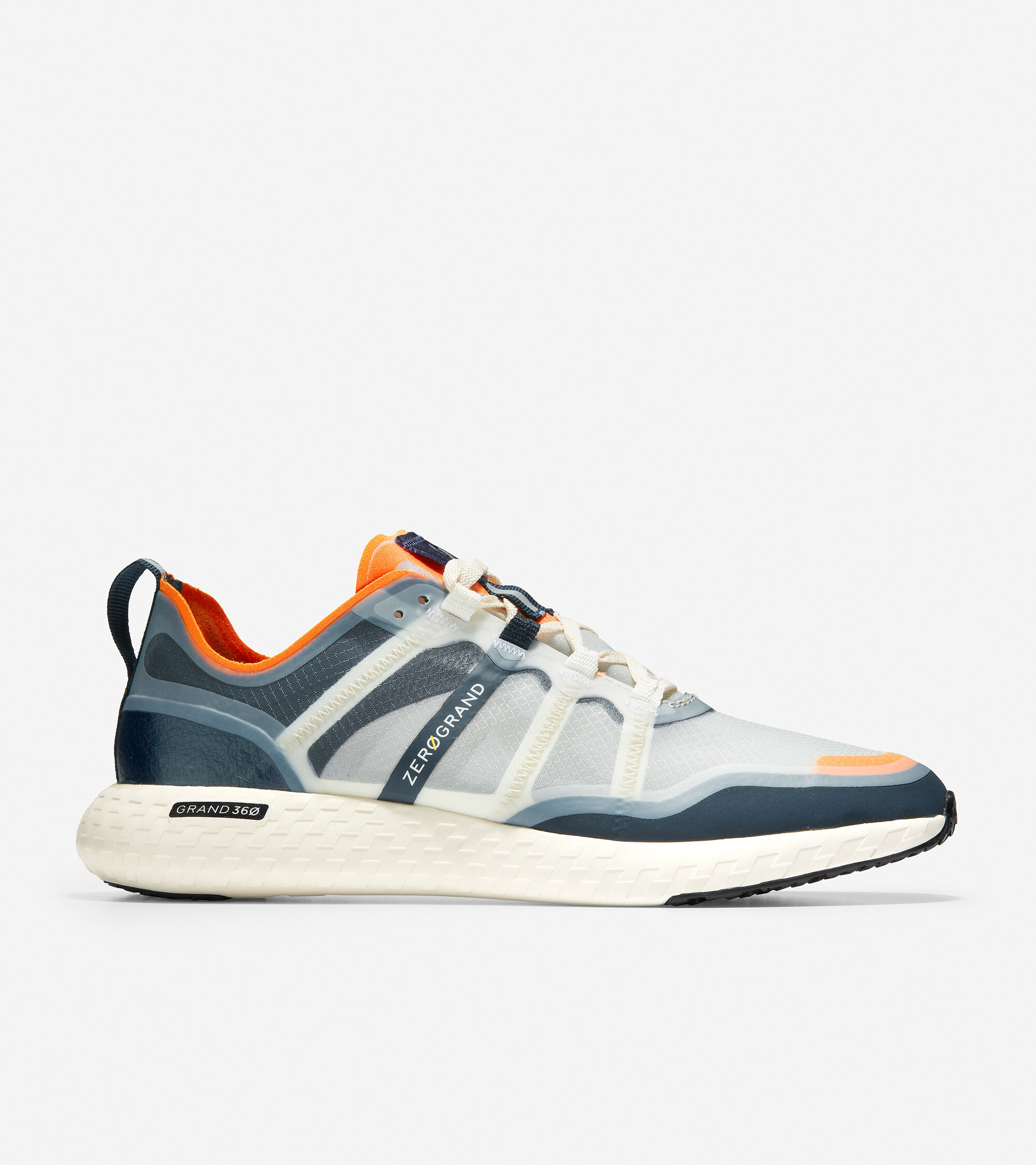 Outpace Running Shoe in Orange-Ivory