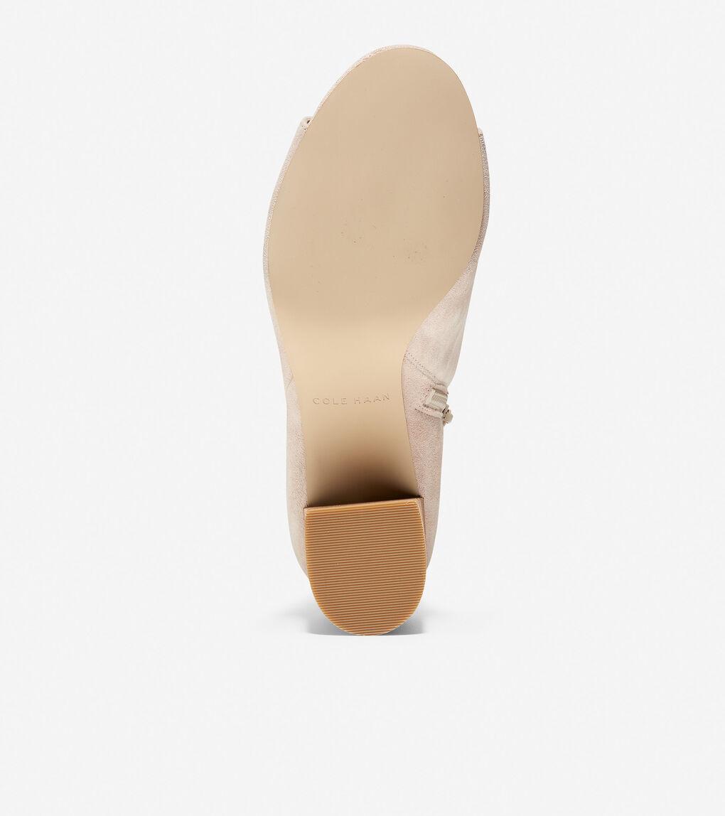 Womens Anisha Open Toe Bootie (65mm)