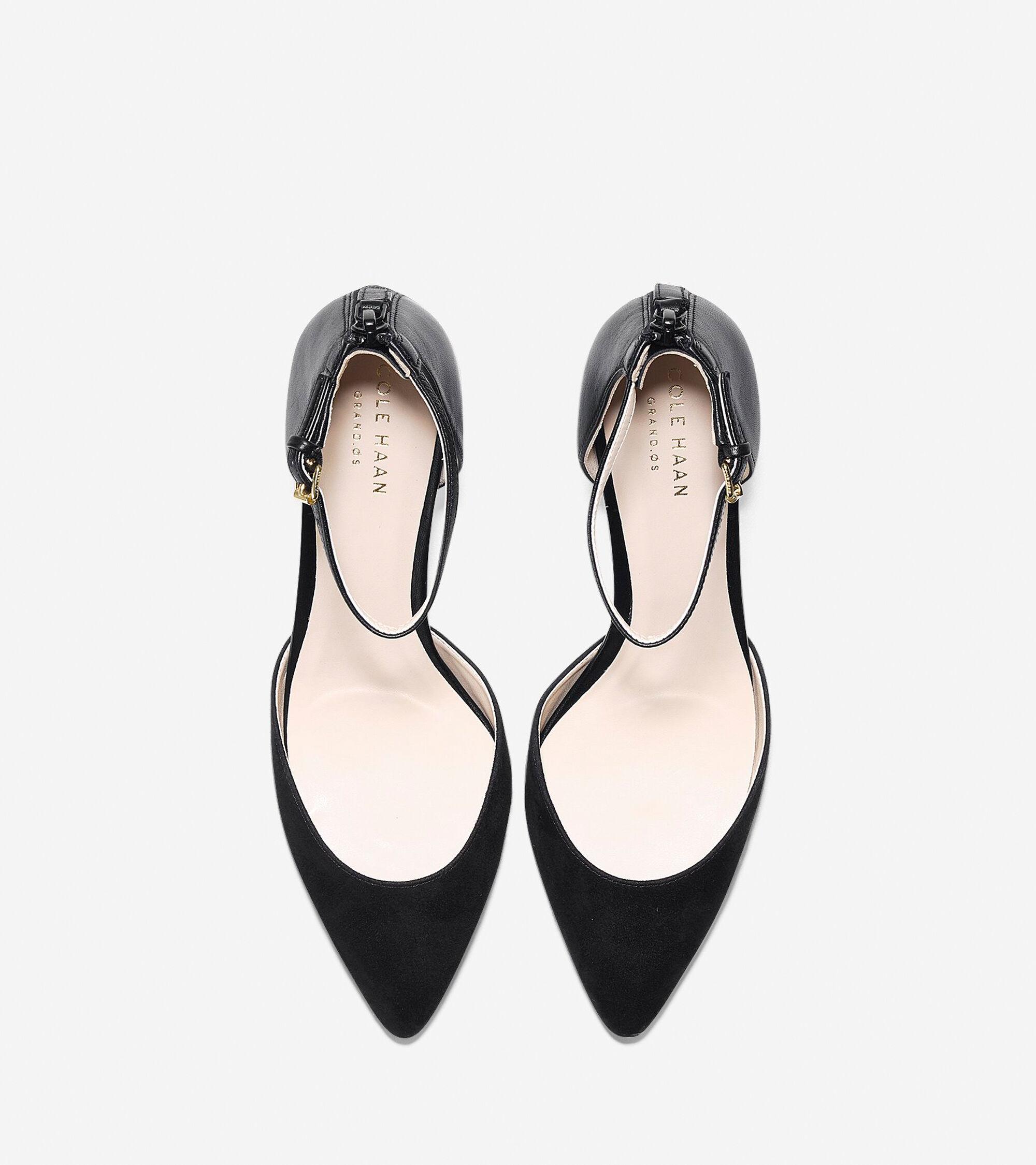 29a277830492 Women s Abigail Grand Ankle Strap Pumps 65mm in Black