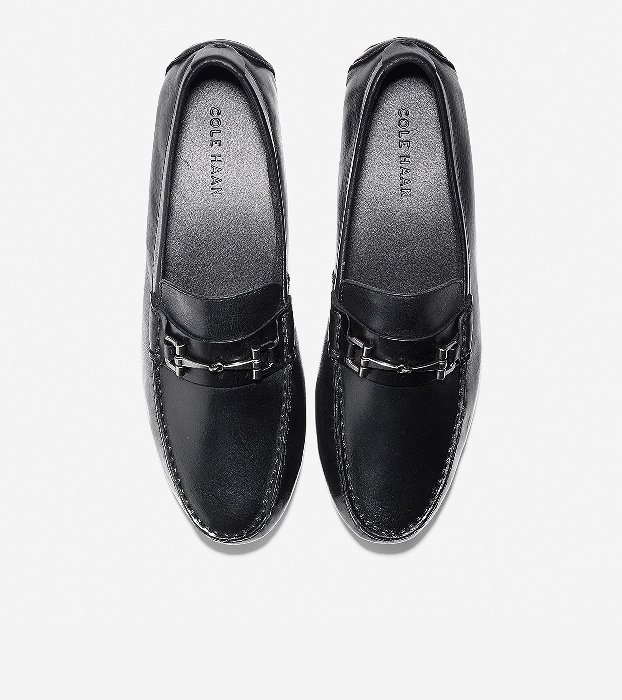 Men's Somerset Link Bit Loafer in Black