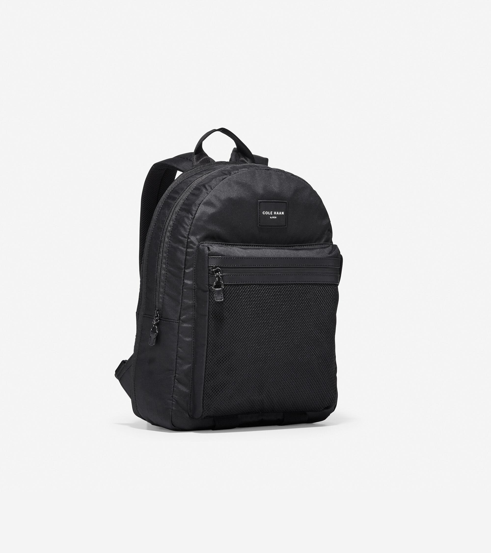 Men s Kai Nylon Backpack in Black Nylon  6890b3548e8af