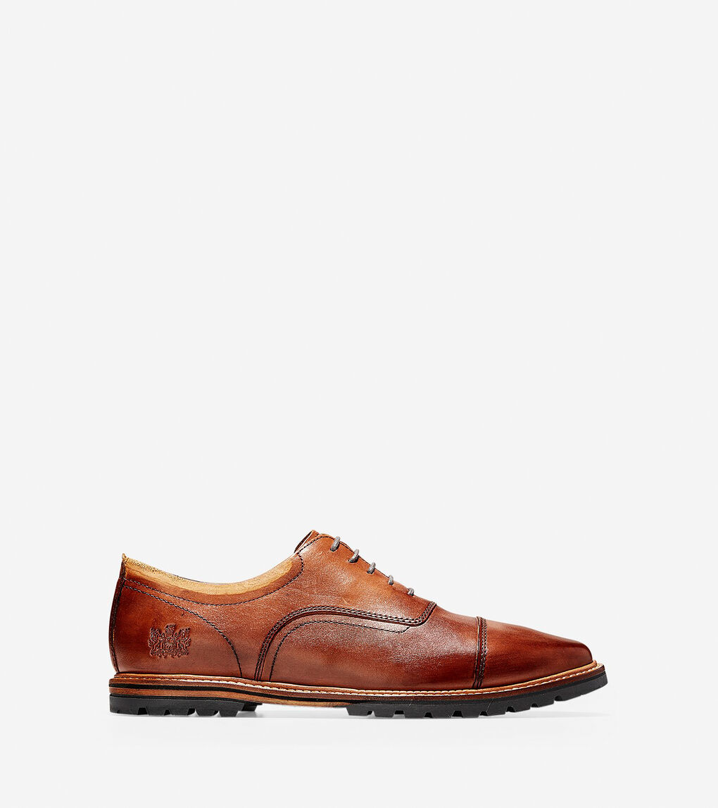 Mens Raymond Grand Cap Toe Oxford