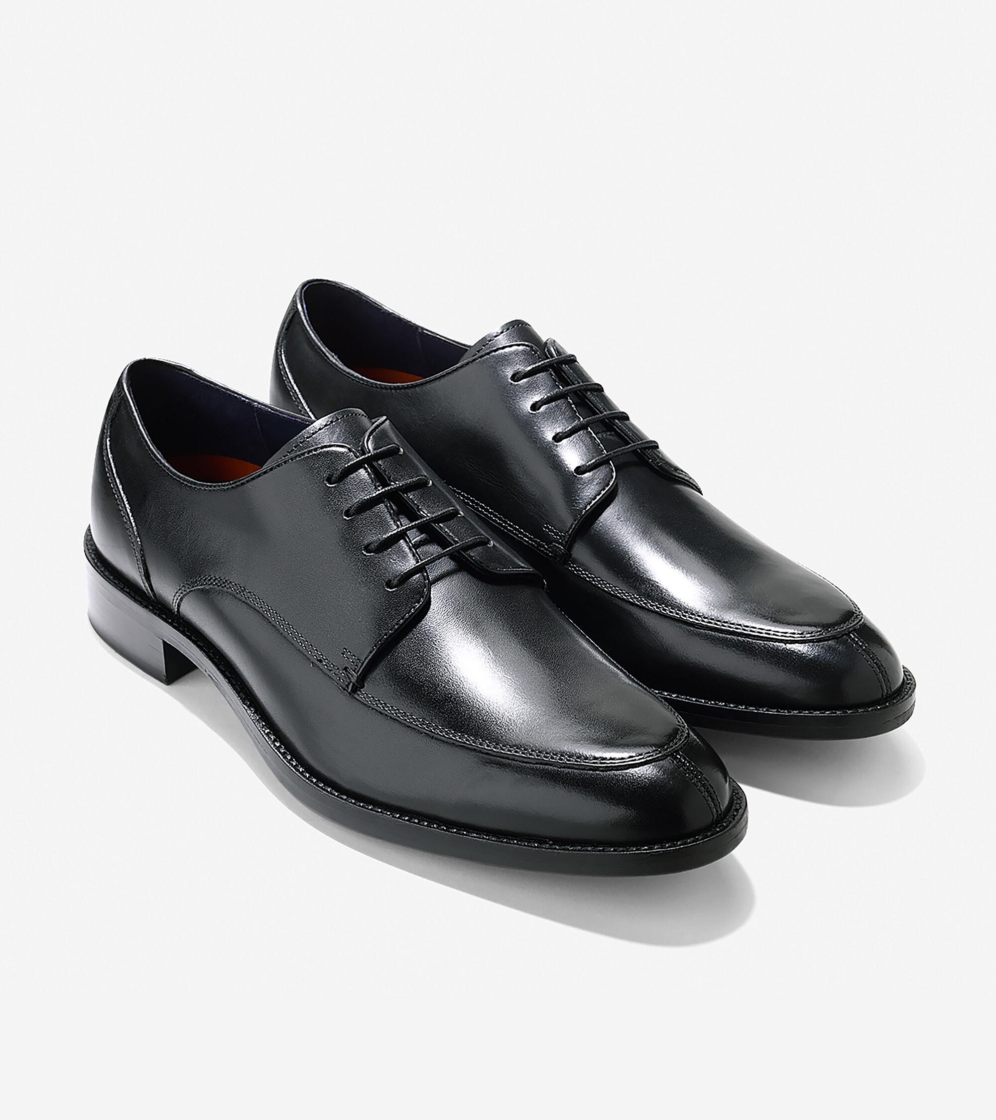 Men s Lenox Hill Split Oxfords in Black   Sale  7d759bbd4e1