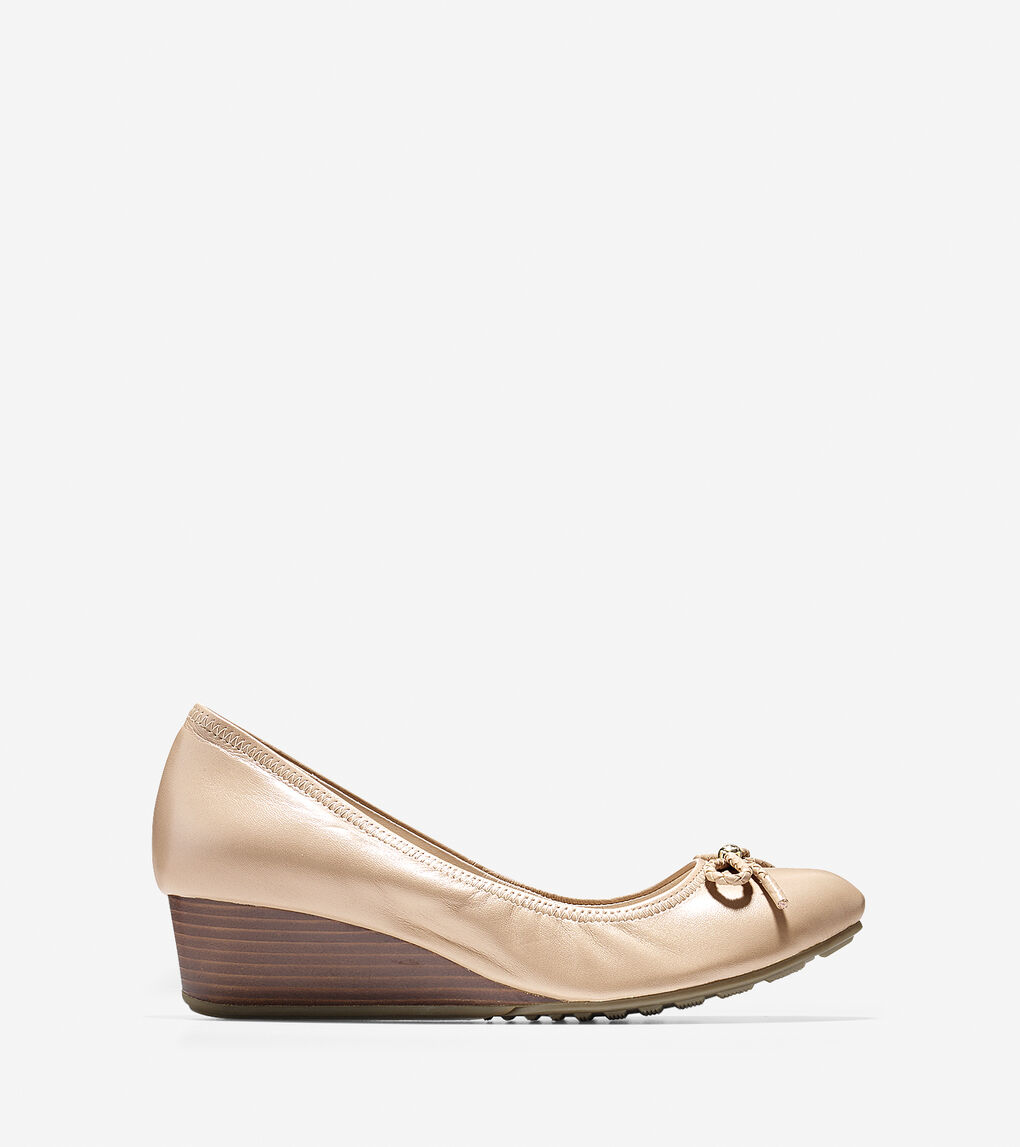 1b01b1954 Women's Tali Grand Lace Wedge (40mm) in Maple Sugar   Cole Haan US