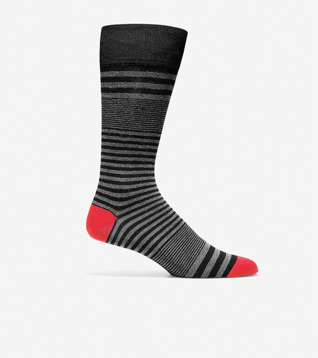 Mens Skater Stripe Crew Socks