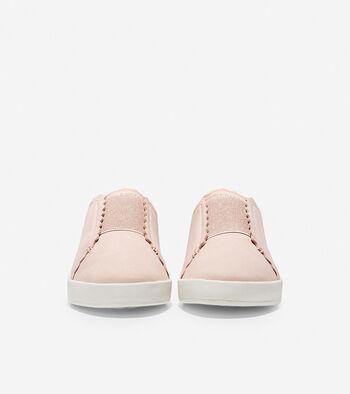 Women's Grandprø Spectator Scalloped Slip On Sneaker