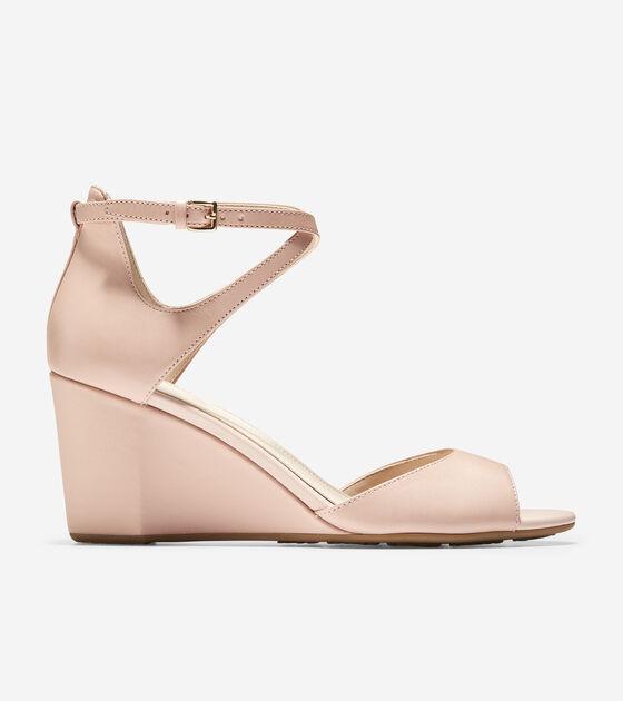 Heels & Wedges > Sadie Open Toe Wedge Sandal (75mm)