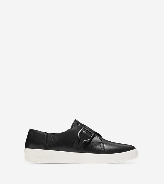 50-70% Off > Women's GrandPrø Spectator Monk Slip-On Sneaker
