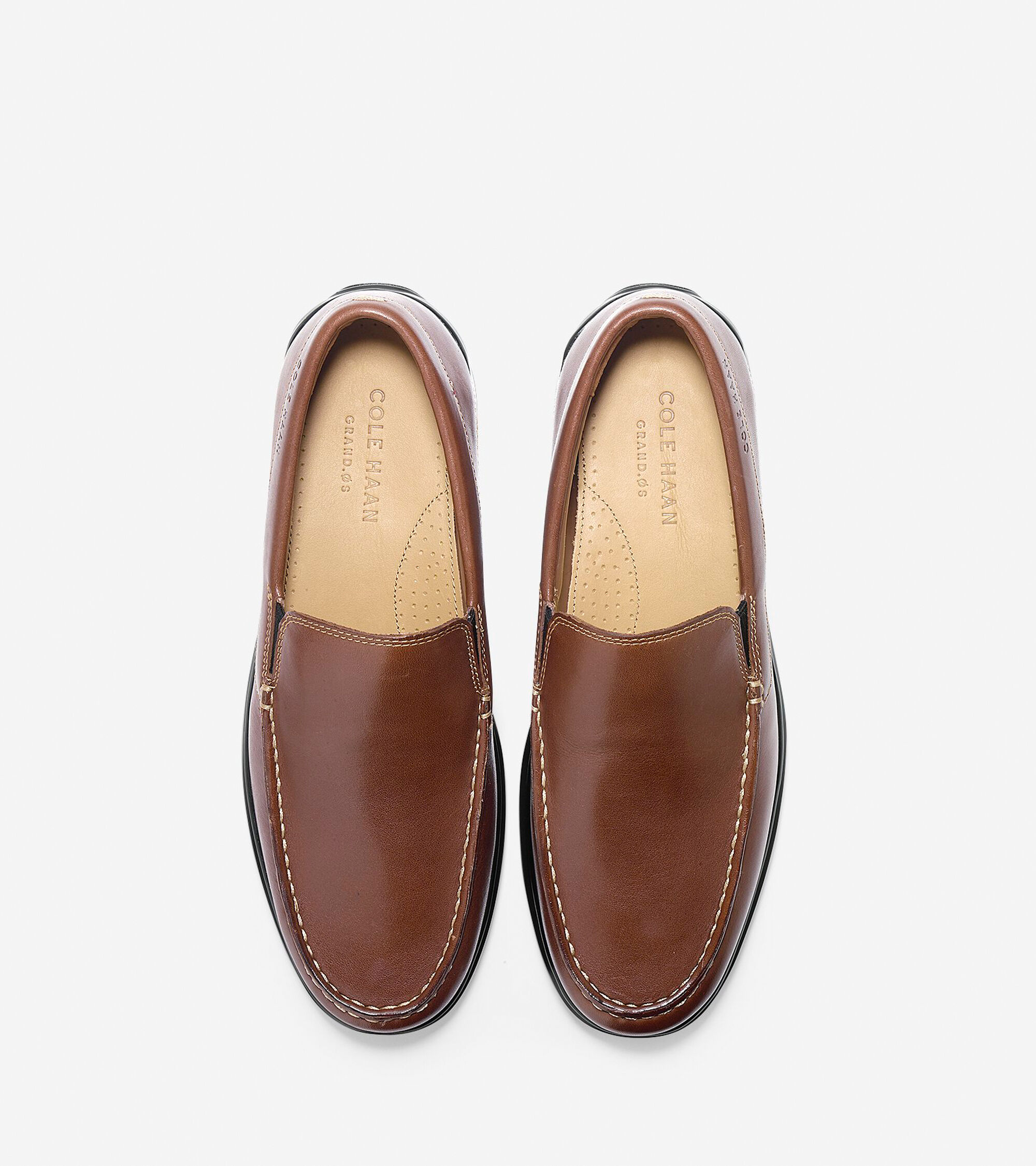 bae55e091eb Men s Santa Barbara Twin Gore Loafers in Brown