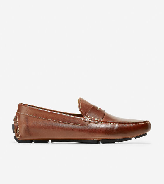 8602623747df7 Howland Penny in Saddle Tan   Mens Shoes