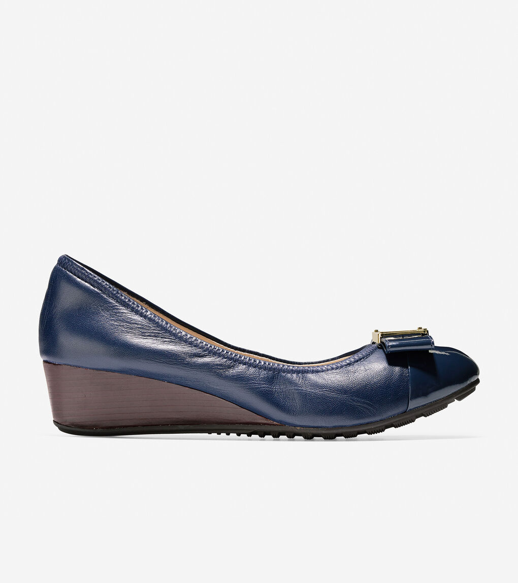 Womens Emory Bow Wedge