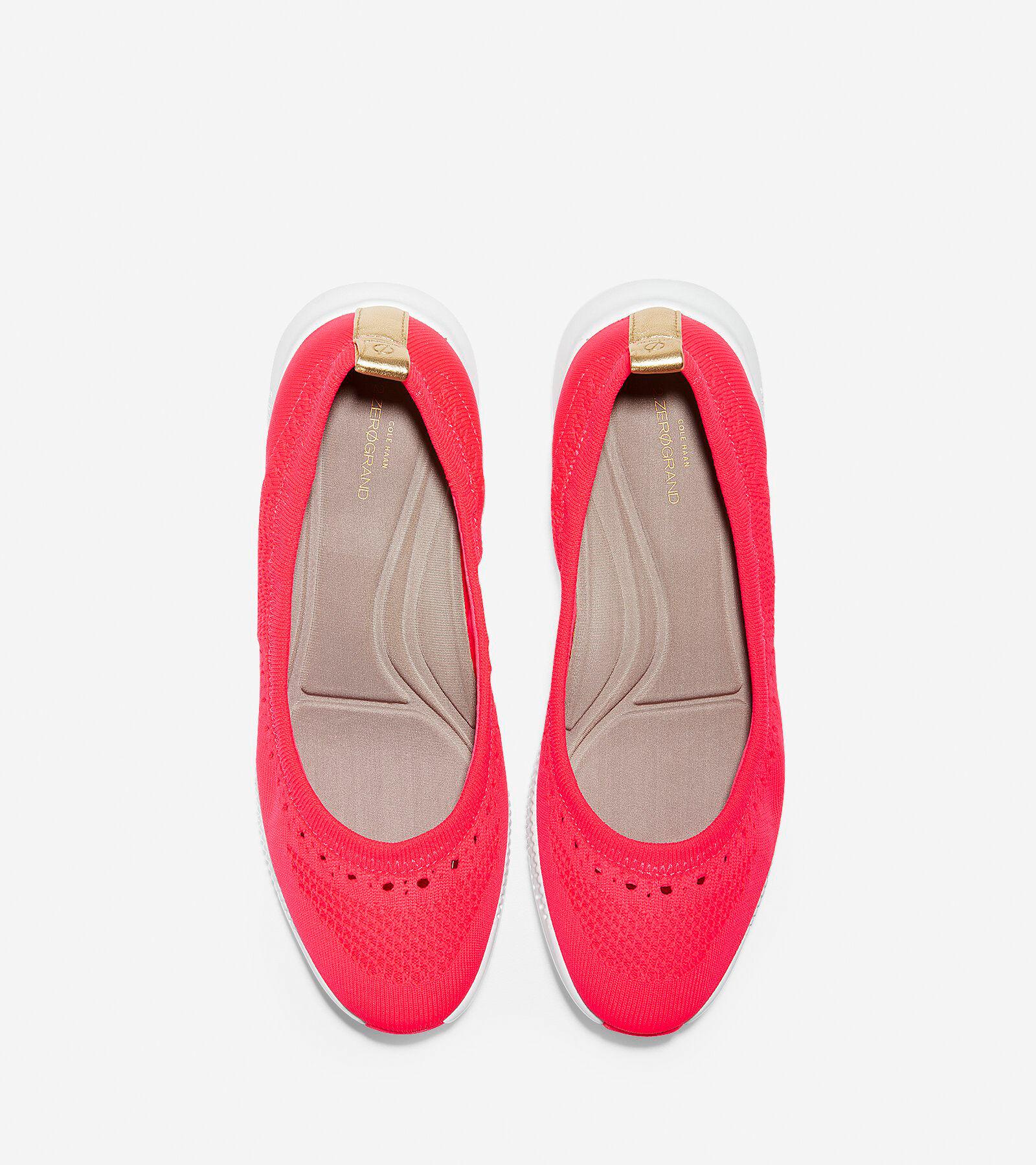Women's Ballet Cole Knit Flats Stitchlite Haan zerogrand Flash In 2 rq4wZ7Baxr