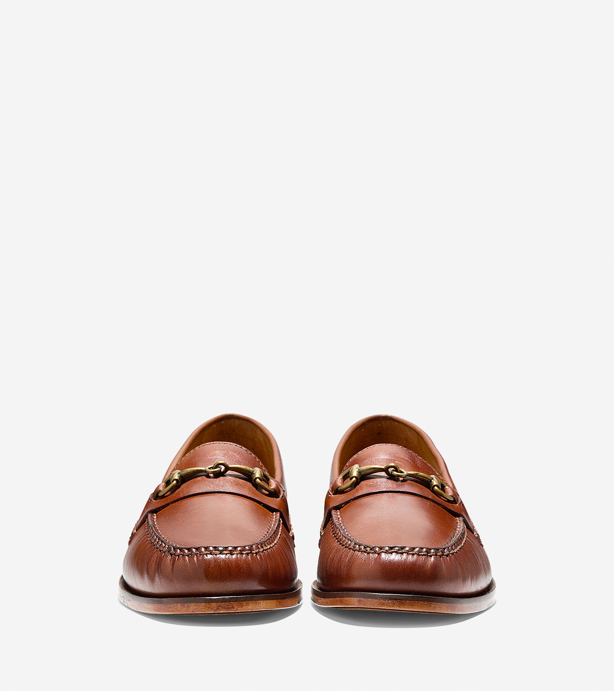 cefd2cc189 Mens Pinch Grand Penny Bit Loafers in Papaya | Cole Haan