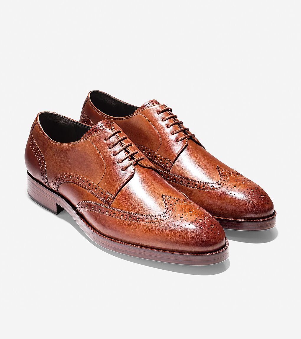 MENS Harrison Grand Short Wingtip Oxford