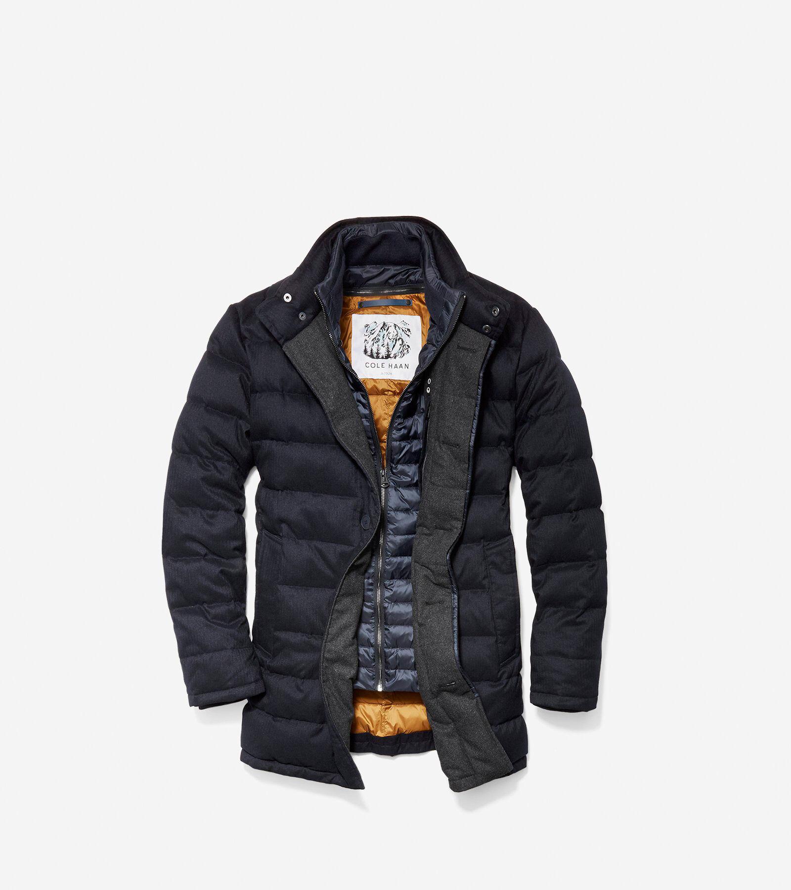 2018 Men Down Coat Winter Jacket Outwear Overcoat Ultralight Warm Fashion Stand Collar Travel Pocketable Portable Down Jackets