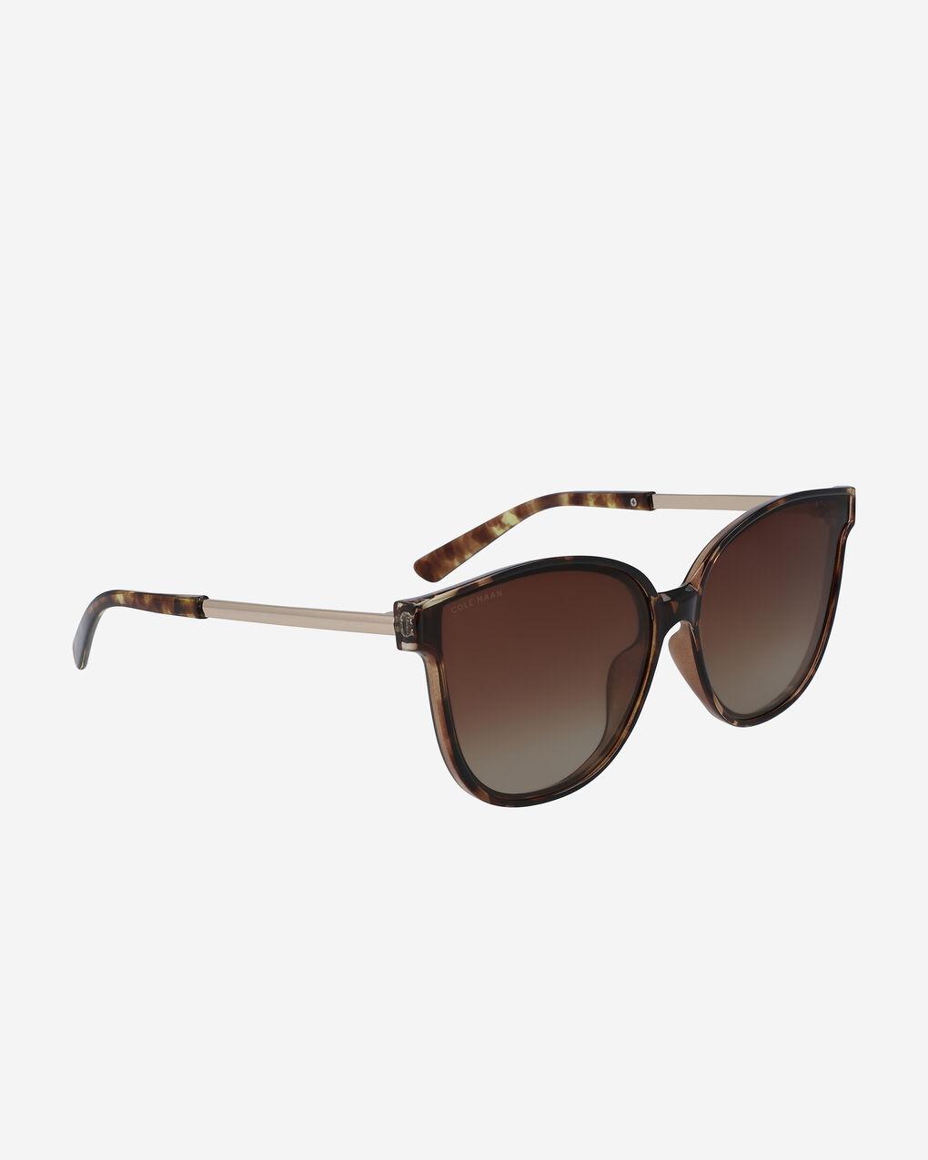 WOMENS Flat Lens Oversized Cateye Sunglasses