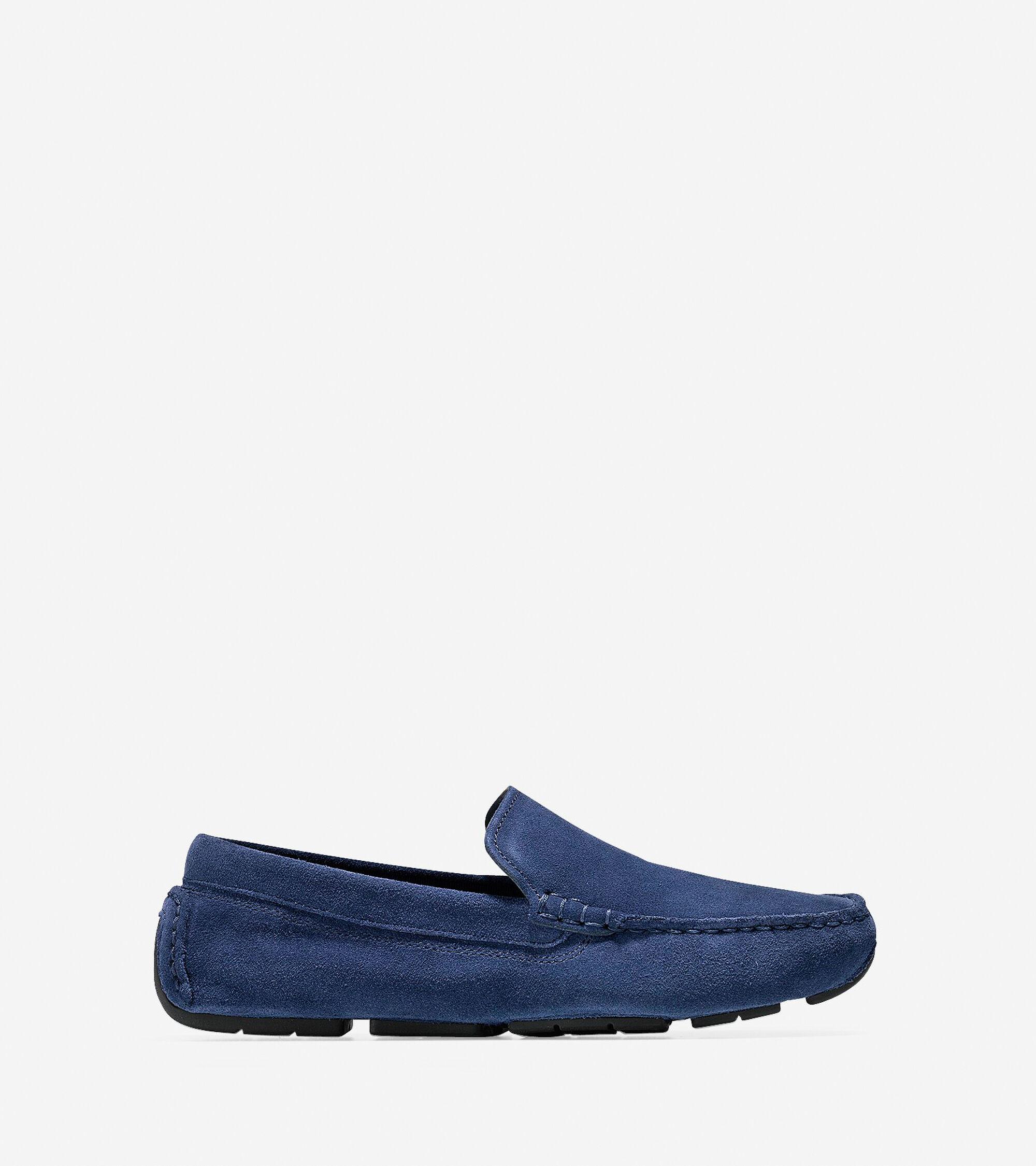 aaae09c7263 Kelson Venetian Loafers in Blazer Blue Suede