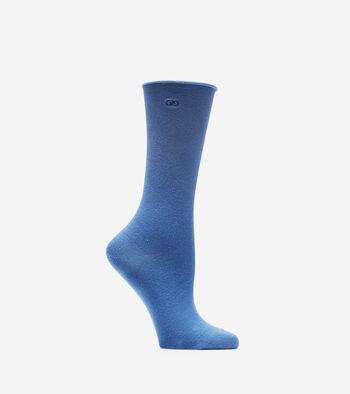 Roll Top Crew Socks