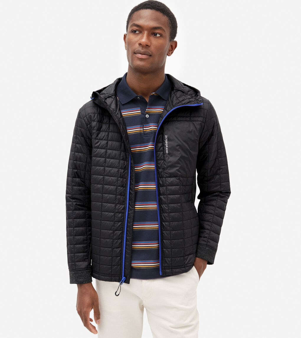 MENS ZERØGRAND Quilted Jacket