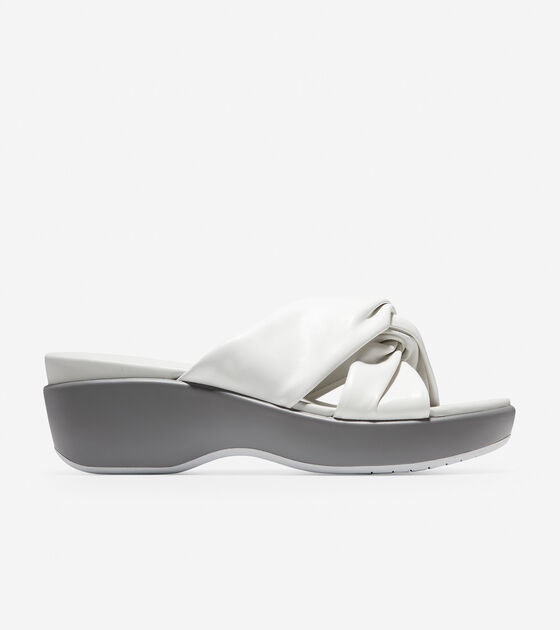 Sandals > Aubree Grand Knotted Slide Sandal