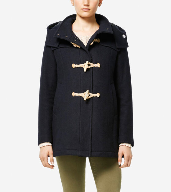 Accessories & Outerwear > Cole Haan + Fidelity Made in America Duffle Coat