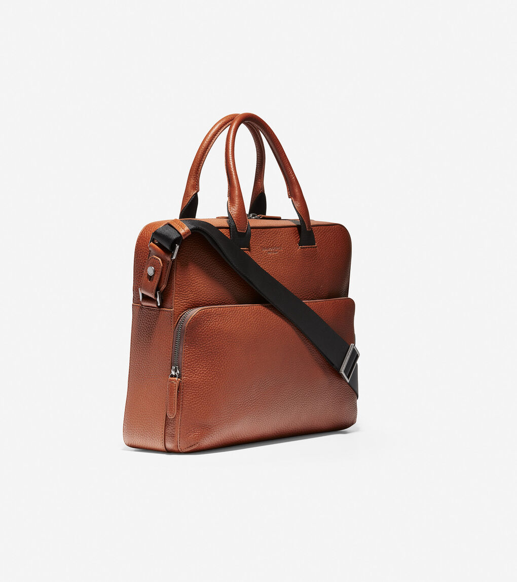 Mens GRANDSERIES Leather Attache