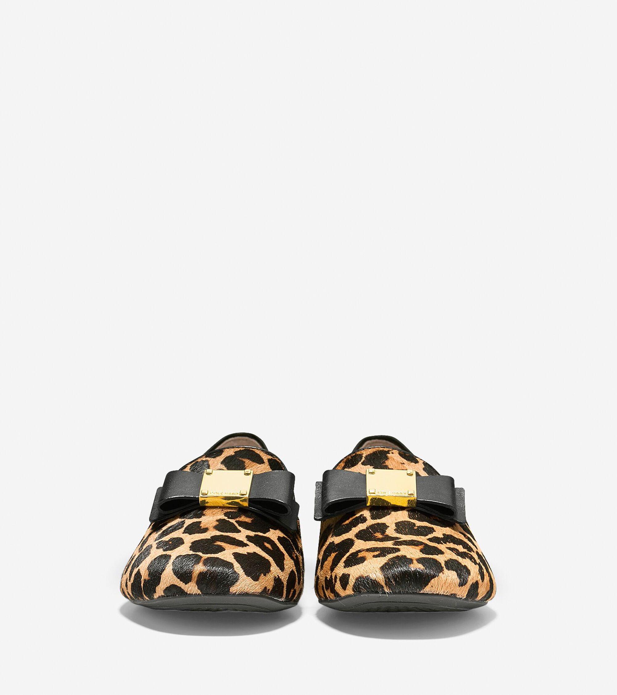 17c94f2e4c4 Women s Tali Bow Loafers in Ocelot Print Haircalf