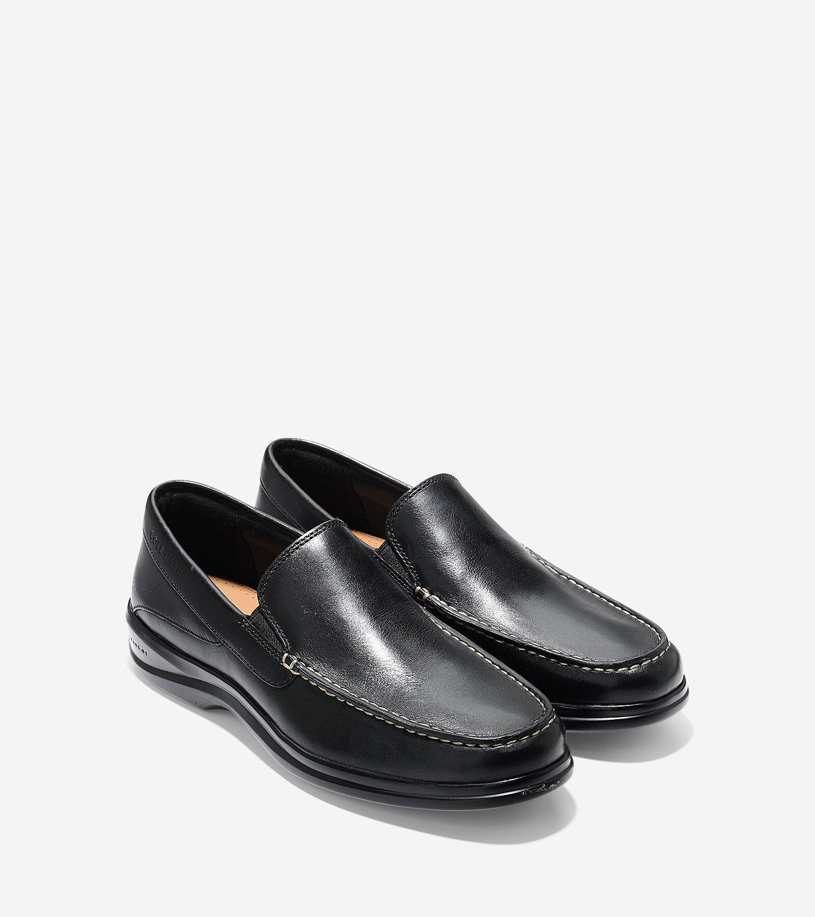 Santa Barbara Twin Gore Loafer in Black