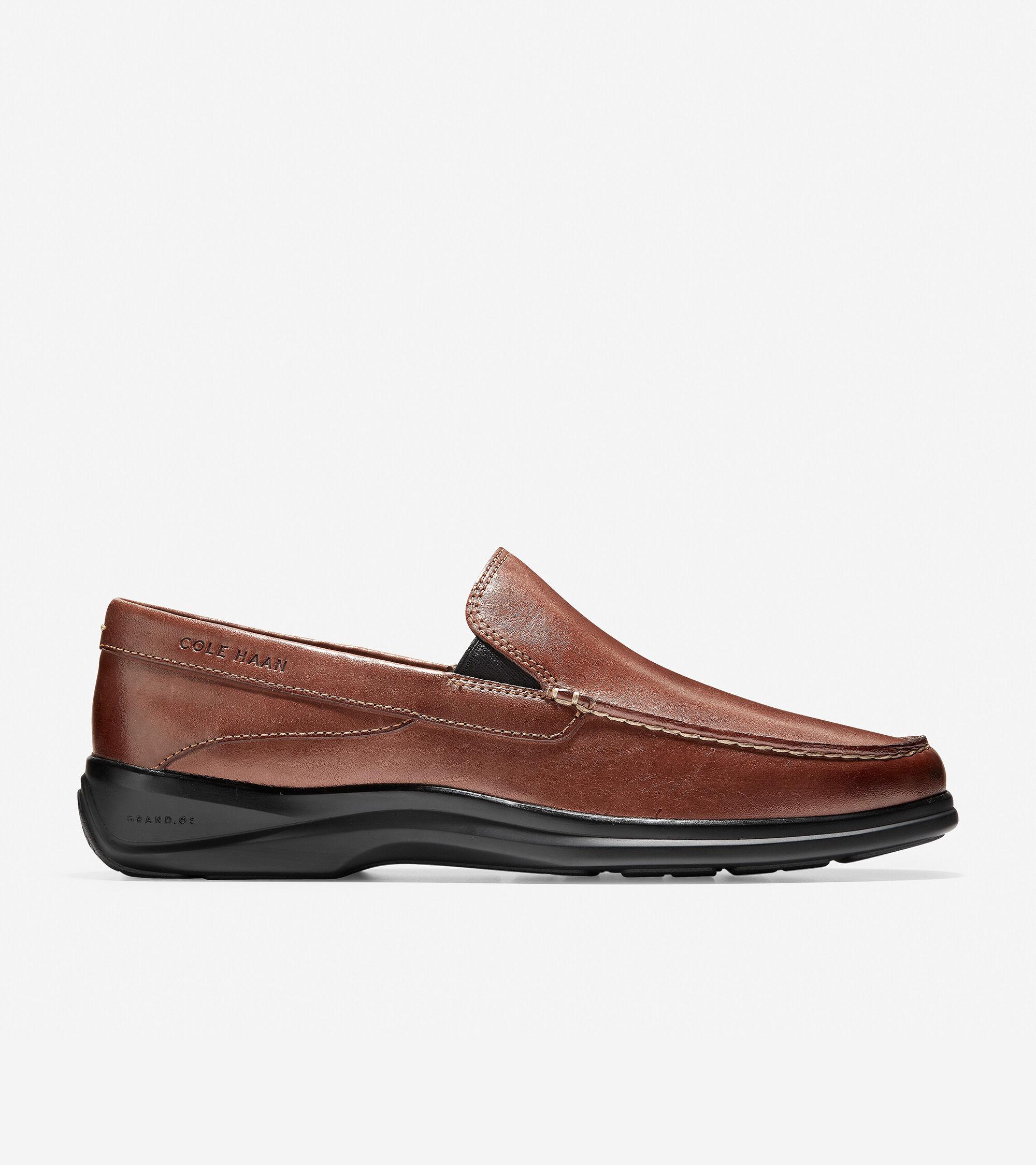 1350abcdb7d Men s Santa Barbara Twin Gore Loafers in Brown