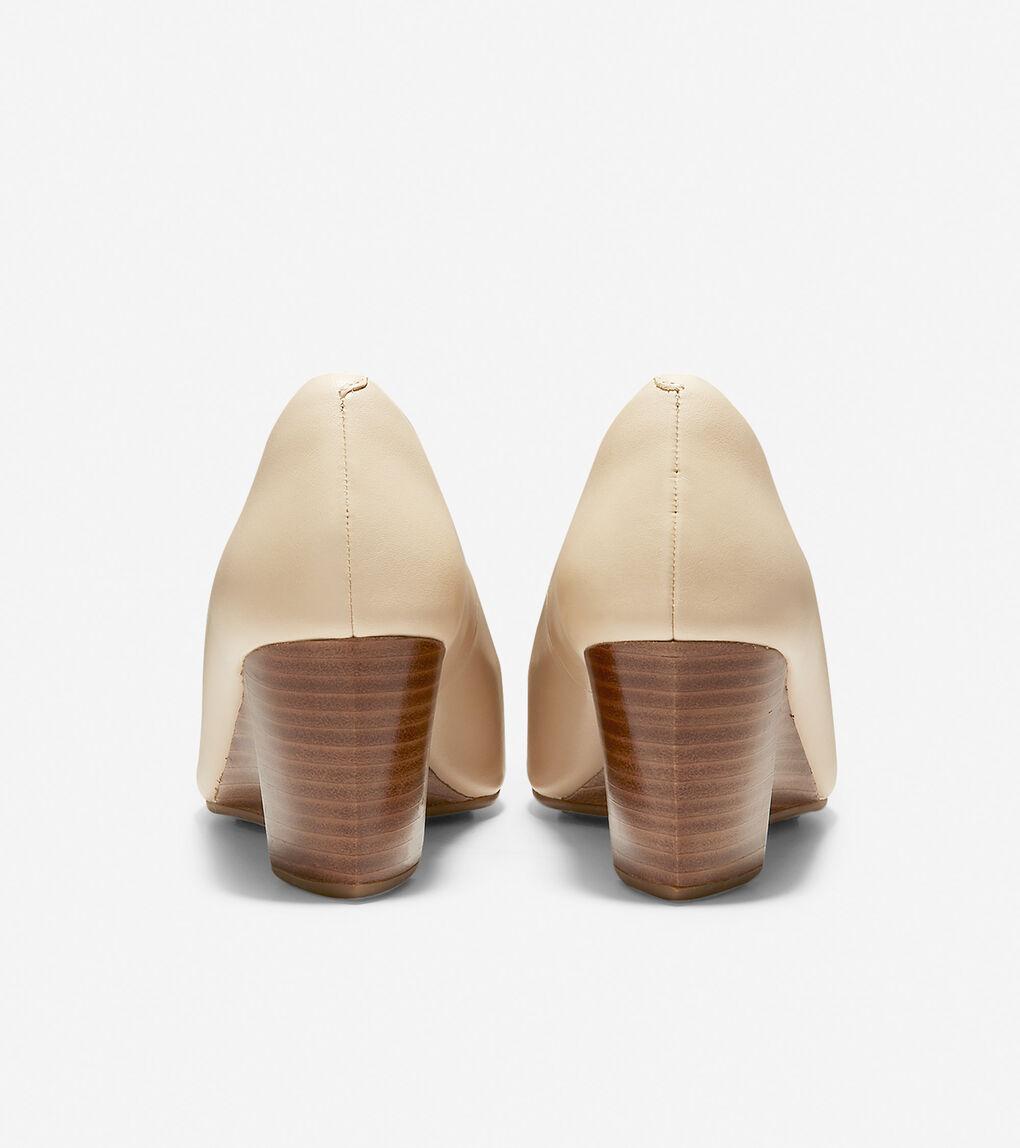 Womens Sadie Open Toe Wedge (65mm)