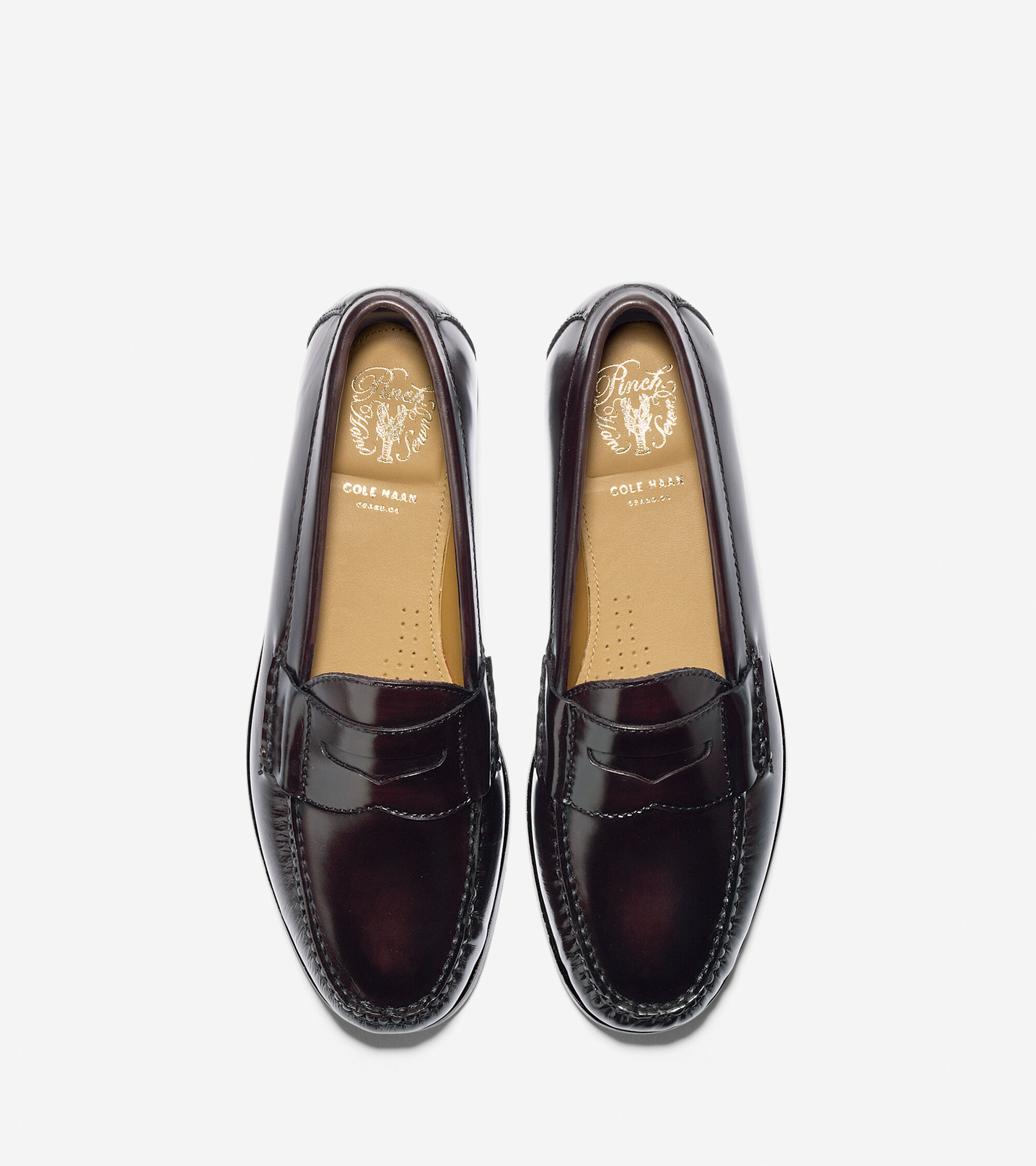 baca21b2837 Pinch Grand Penny Loafers in Mahogany