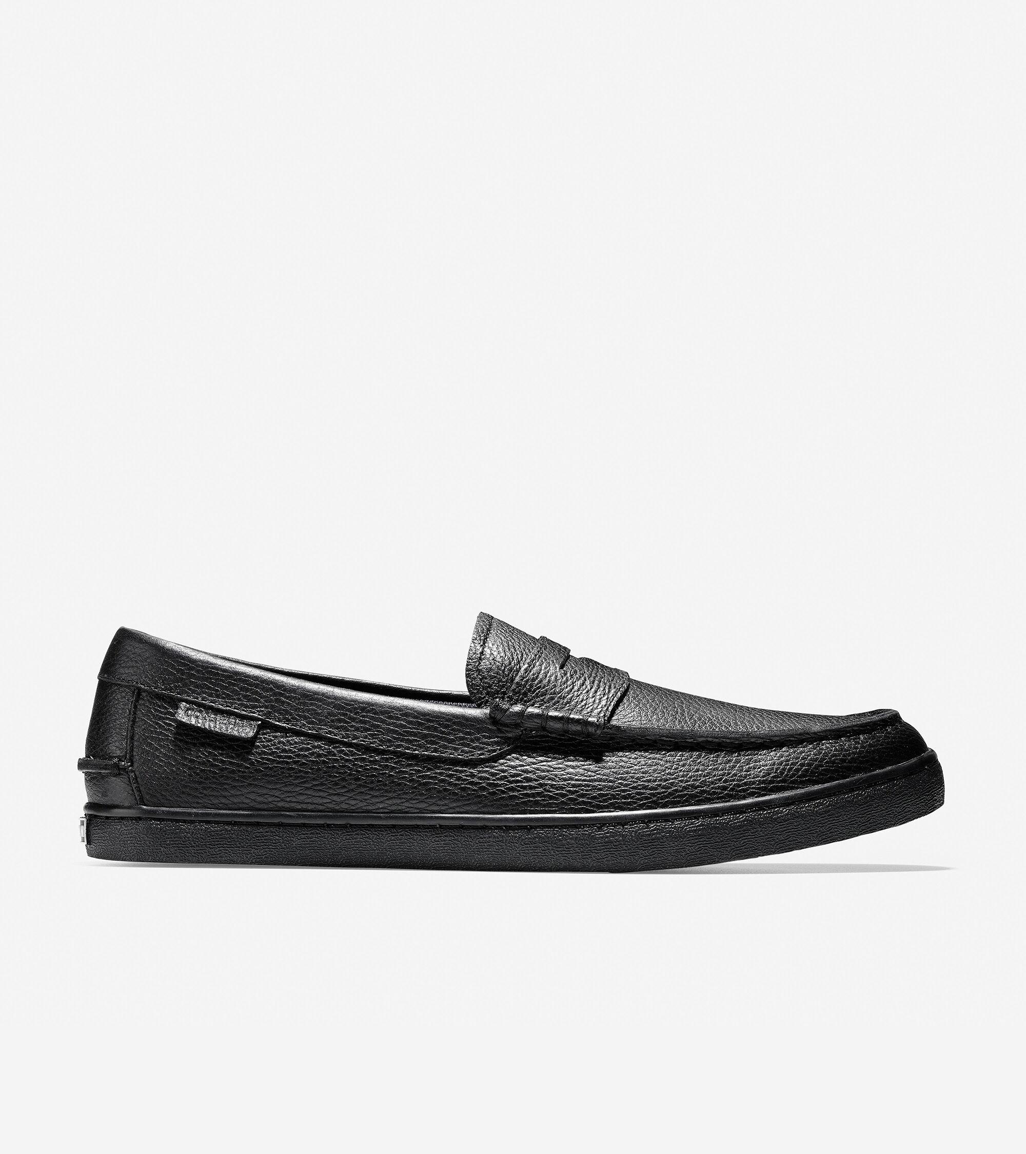 Men's Nantucket Loafer in Black Leather
