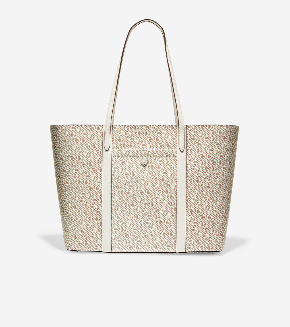 WOMENS Coated Canvas Tote