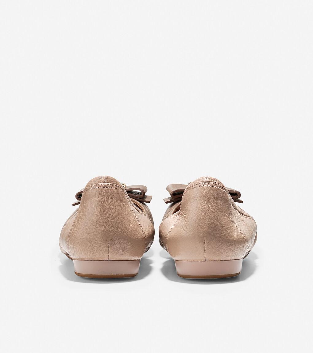 Womens Tali Bow Ballet Flat