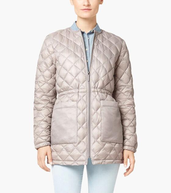 Bags & Outerwear > Diamond Quilt Parka