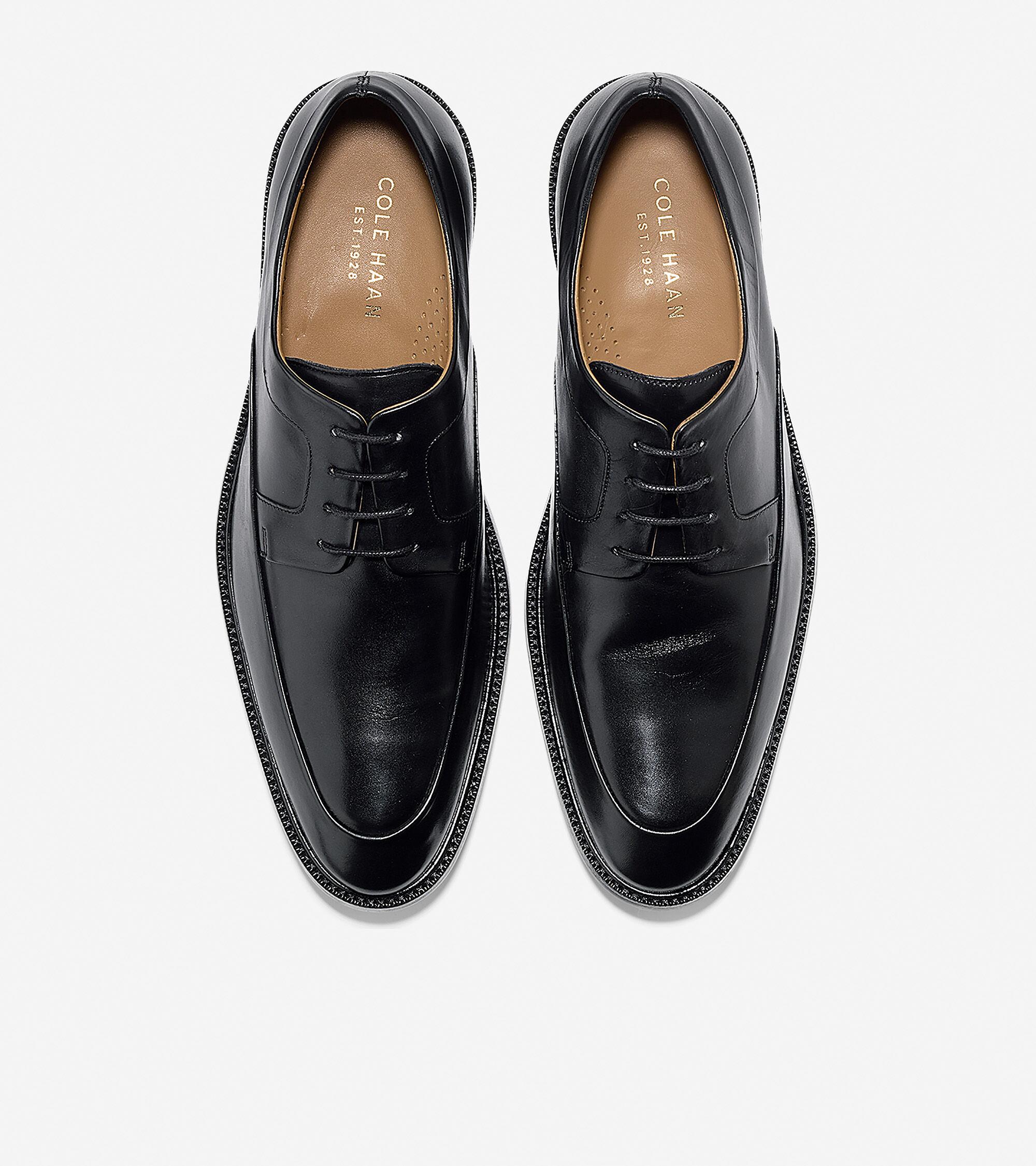 Men's Warren Apron Oxford in Black