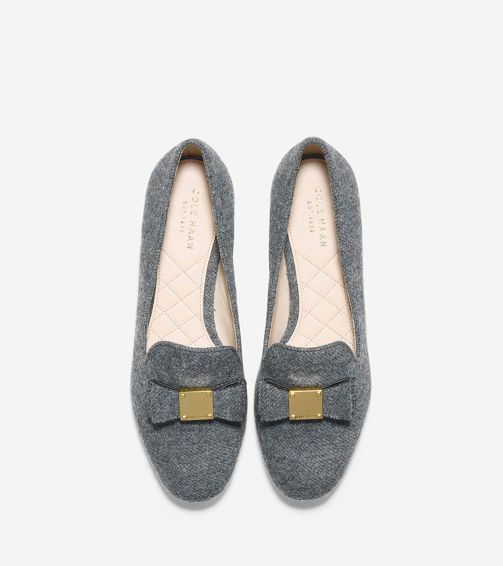 faf72983f28 Women s Tali Bow Loafers in Gray Flannel