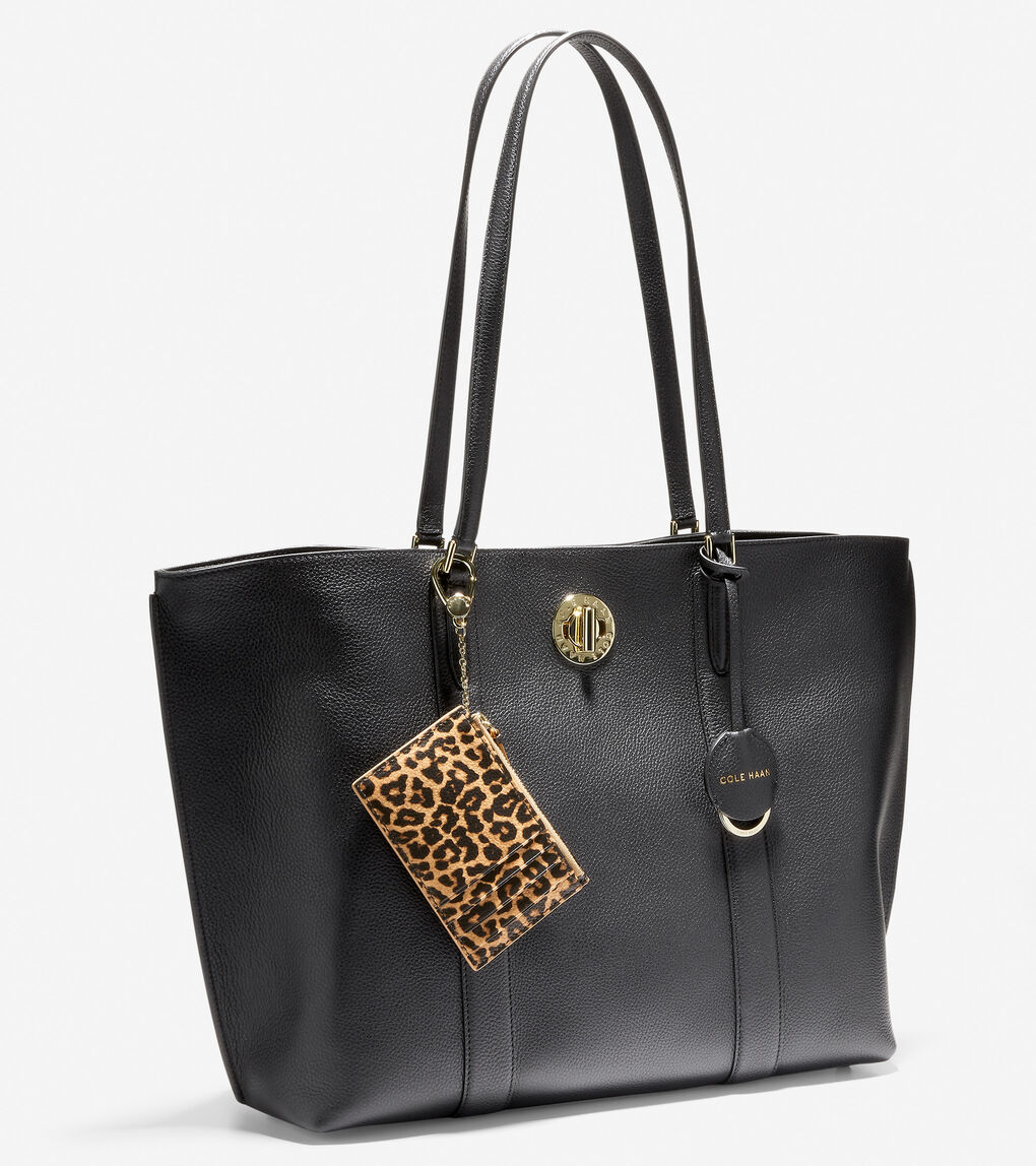 WOMENS Large Turnlock Tote