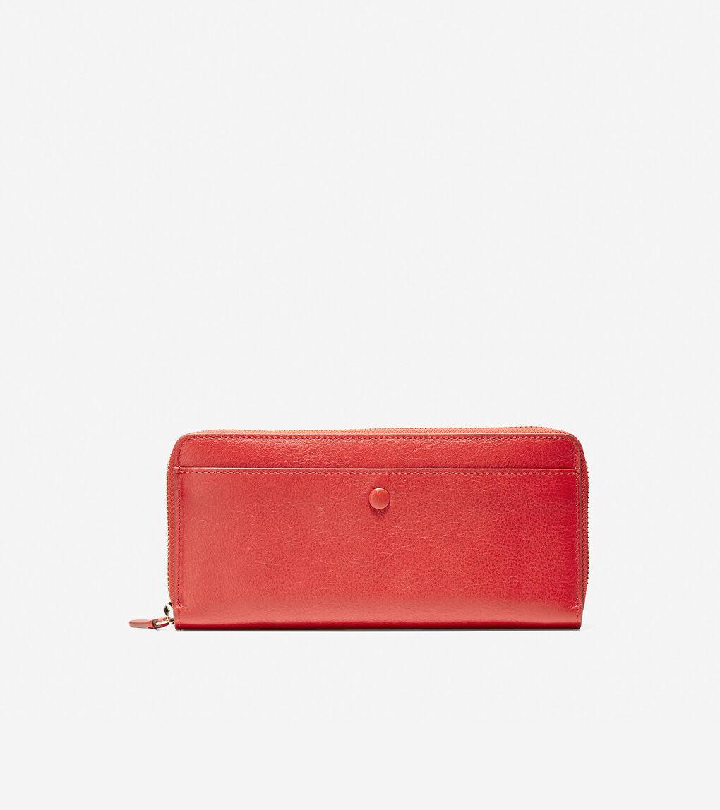 Womens GRANDSERIES Zip Around Continental Wallet