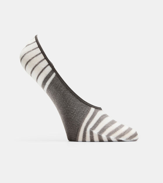Socks & Tights > Striped No-Show Liner - 2 Pack