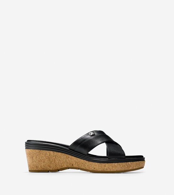 434db991457 Women s Briella Grand Sandals in Black-Cork