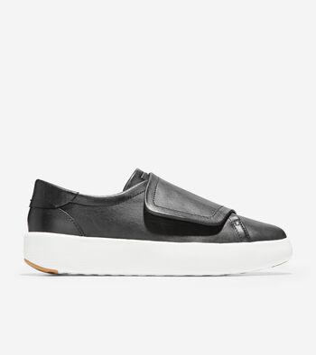 Women's GrandPrø Tennis Flatform Monk Sneaker