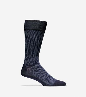 Geo Pattern Crew Socks