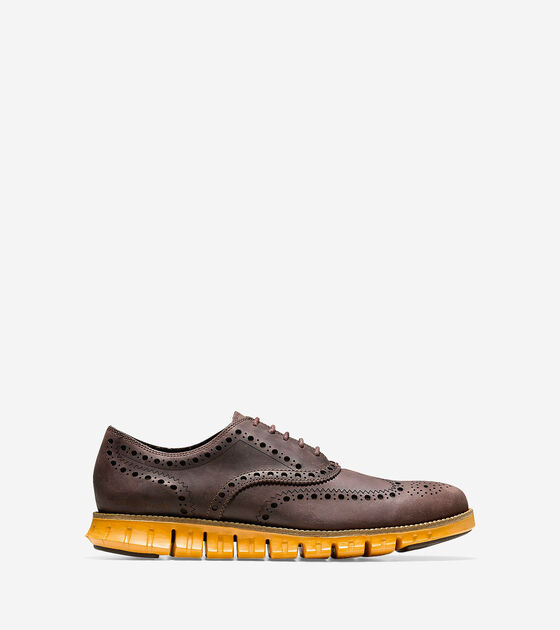 Oxfords & Monks > Men's ZERØGRAND Wingtip Oxford